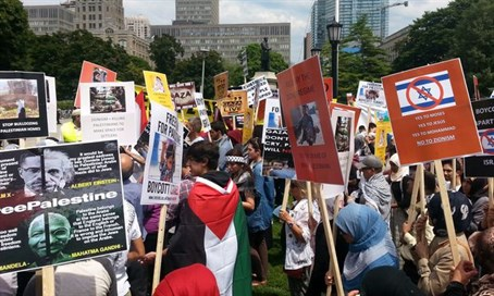 Al-Quds Day rally in Toronto (archive)