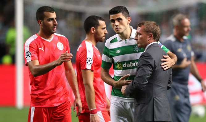 Celtic vs. Hapoel Be'er Sheva