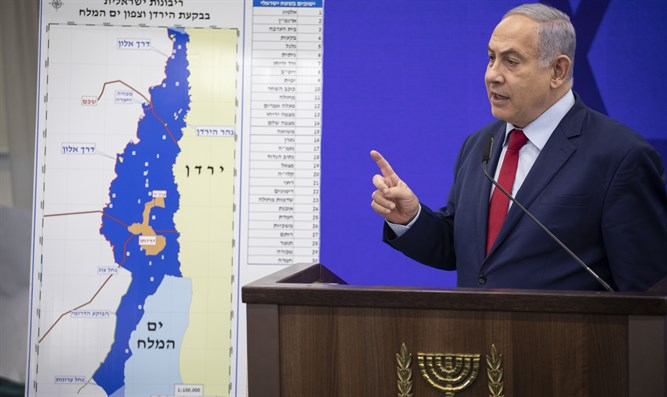 Netanyahu proposes sovereignty plan September 10th 2019